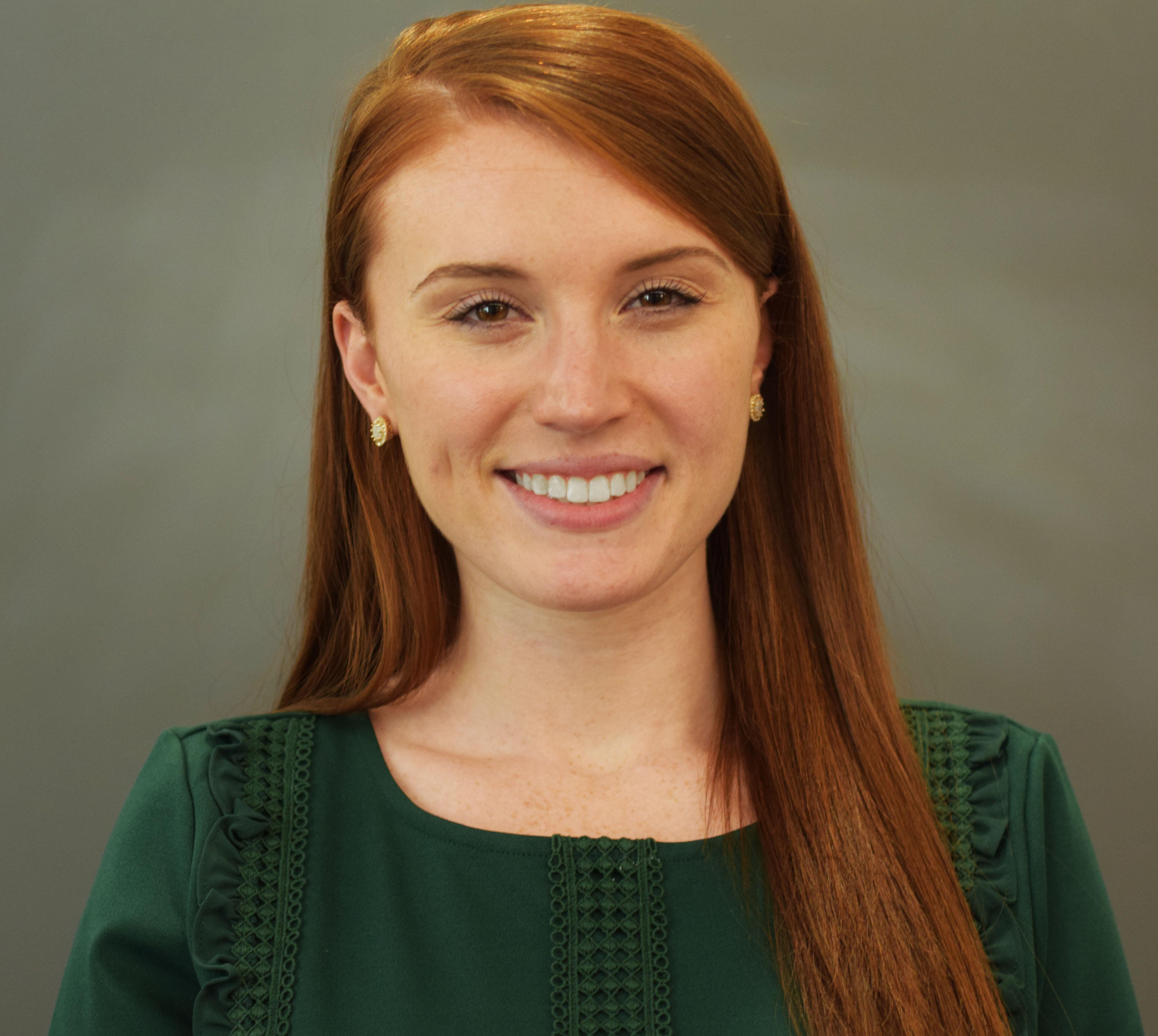 Sarah, Junior Policy Analyst